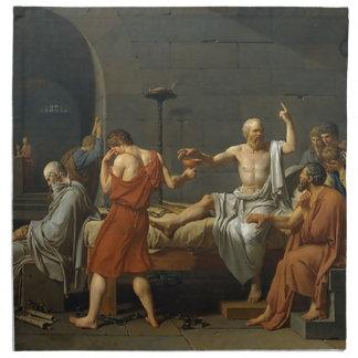The Death of Socrates Cloth Napkins