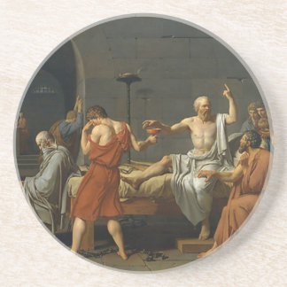 The Death of Socrates Coasters