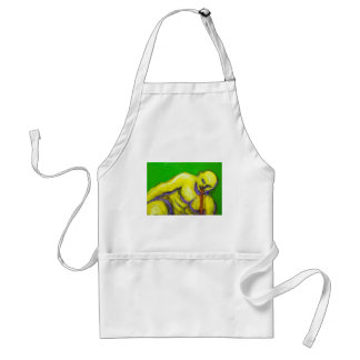 The Death of Socrates (expressionism portrait) Standard Apron
