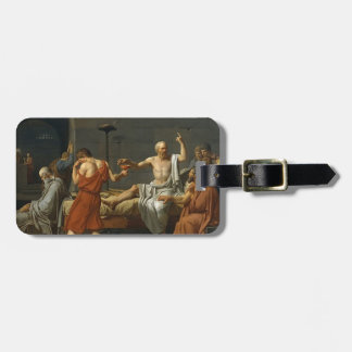 The Death of Socrates Luggage Tag