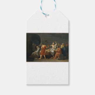 The Death of Socrates Pack Of Gift Tags