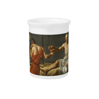 The Death of Socrates Pitcher