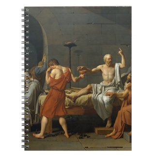 The Death of Socrates Spiral Notebook