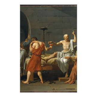 The Death of Socrates Stationery