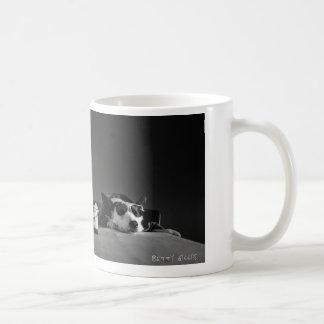 The debrief coffee mug