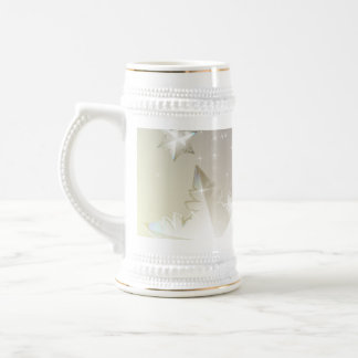 The decorative abstract winter mug design.