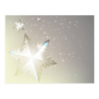 The decorative abstract winter postcard design.