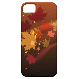 The decorative natural autumn iPhon case design.