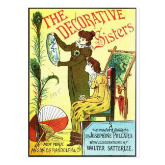 The Decorative Sisters Postcard