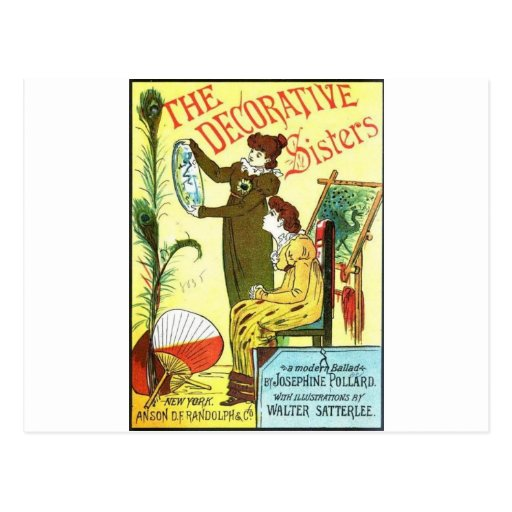 The Decorative Sisters Postcards