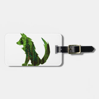 THE DEEP FOREST LUGGAGE TAG