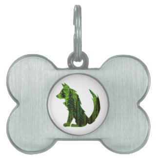 THE DEEP FOREST PET ID TAG