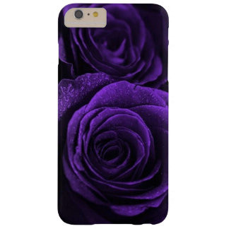 The deepest, darkest purple roses barely there iPhone 6 plus case