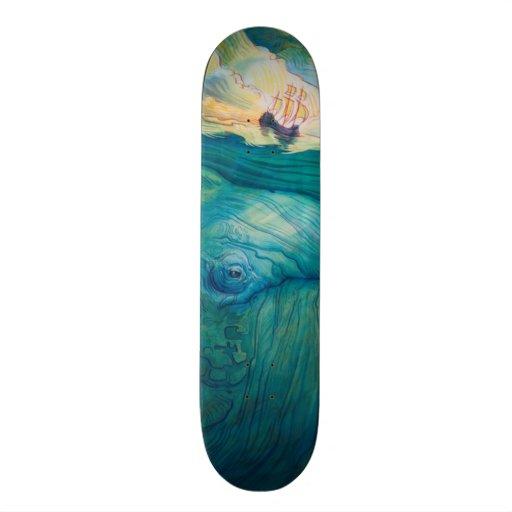 The Deepness Custom Skateboard