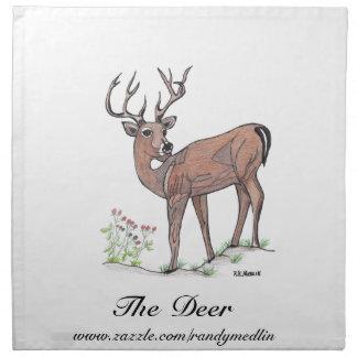 The Deer American MoJo Napkin