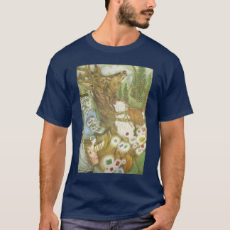 The Deer and The Cat and The Jewels T-Shirt
