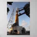 The Delta IV rocket Poster