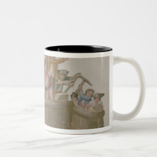 The Demolition of the Bastille, July 1789 Two-Tone Coffee Mug
