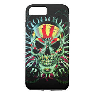 the demon of all skulls iphone case