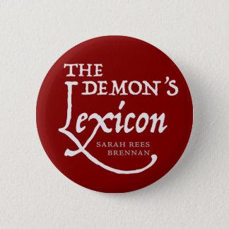 The Demon's Lexicon *BUTTON* 2 Inch Round Button
