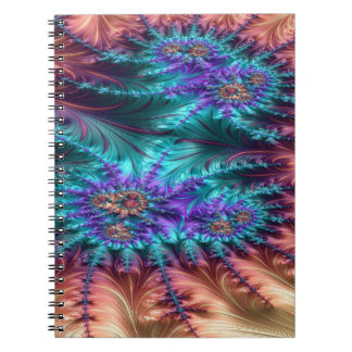 The Demoralized Stain Fractal Design Notebook