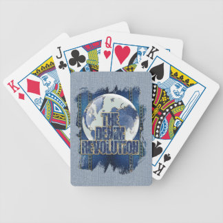 The Denim Revolution Bicycle Playing Cards