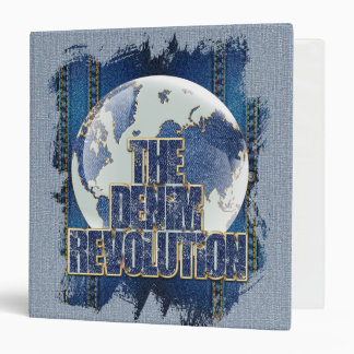 The Denim Revolution Binders