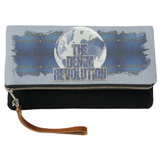 The Denim Revolution Clutch