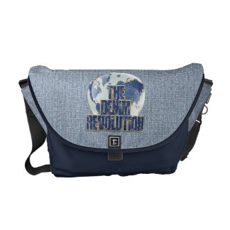 The Denim Revolution Courier Bag
