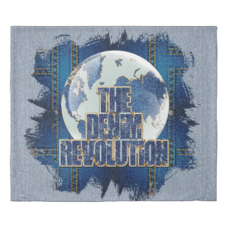 The Denim Revolution Duvet Cover