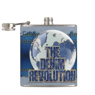 The Denim Revolution Flask