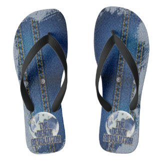 The Denim Revolution Flip Flops