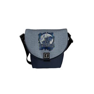 The Denim Revolution Messenger Bags