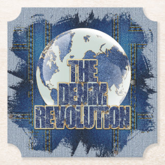 The Denim Revolution Paper Coaster