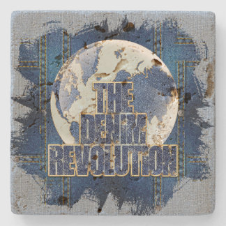 The Denim Revolution Stone Coaster