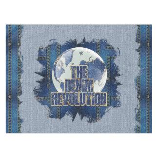 The Denim Revolution Tablecloth
