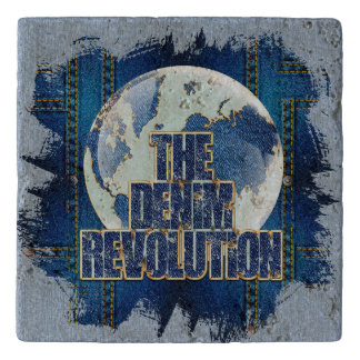 The Denim Revolution Trivet