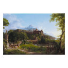 The Departure by Thomas Cole Poster