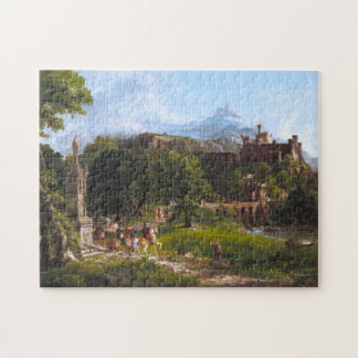 The Departure by Thomas Cole Puzzle