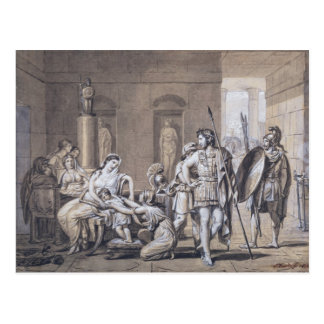 The Departure of Hector, c.1812 Postcard