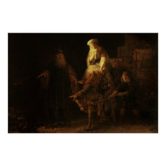The Departure of the Shemanite Wife Print
