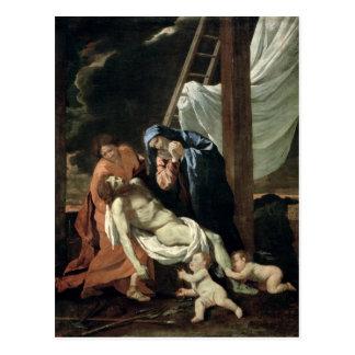 The Deposition, c.1630 Postcard