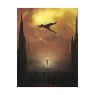 The Descent Canvas Print