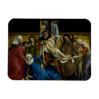 The Descent from the Cross Rogier van der Weyden Rectangular Photo Magnet