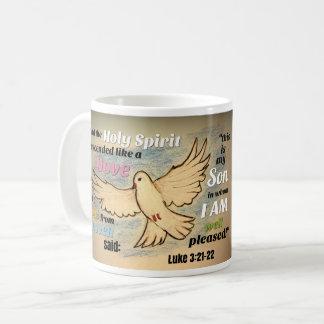 The Descinding Dove Coffee Mug