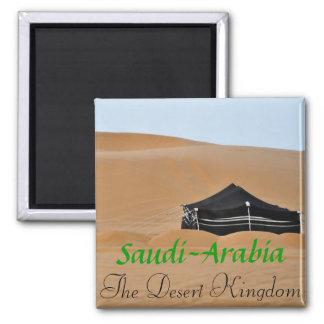 The Desert Kingdom Fridge Magnet