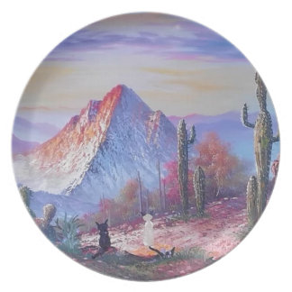 The Desert Travelers Party Plates