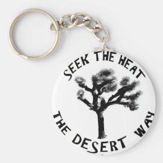 The Desert Way Key Chain