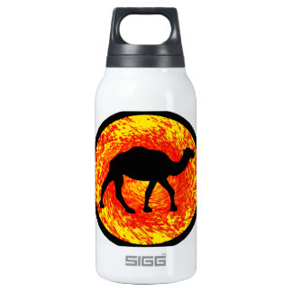 THE DESERT WONDERS 10 OZ INSULATED SIGG THERMOS WATER BOTTLE