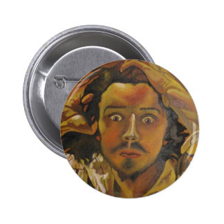 The Desperate Man 2 Inch Round Button